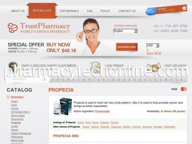 Propecia online store